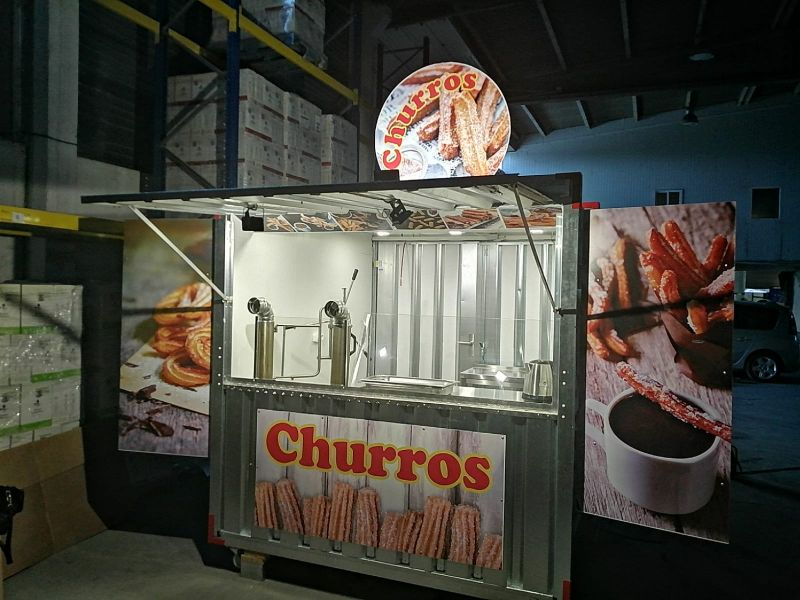 Quiosque de churros